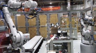 Advanced-Vision-Technology robot guided arms