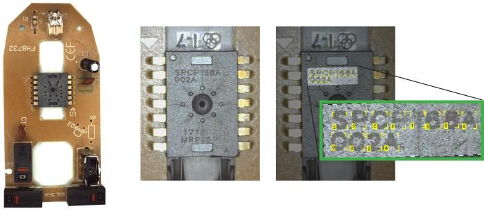 电路板上的光学字符识别