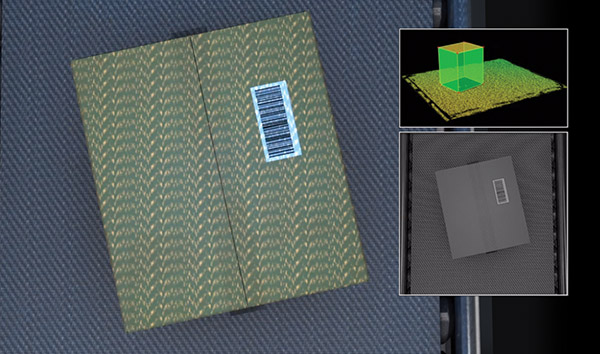自动化配送中心 - 三维扫描