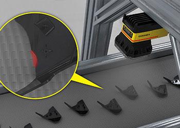 视觉系统检测注塑元件上的缺陷