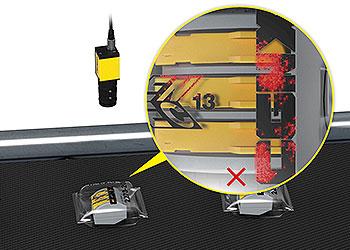 视觉系统检测透明包装的产品