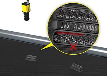 视觉系统检测剃刀片缺陷