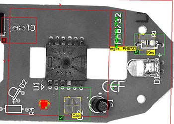 鼠标 PCB 的机器视觉检测