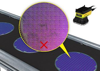 深度学习区分合格半导体晶圆检测和两个不合格的检测样本。
