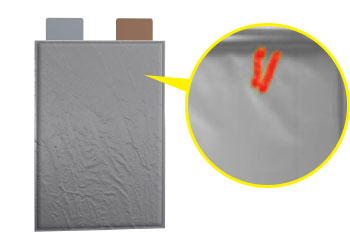 EV Battery Pouch Surface Inspection