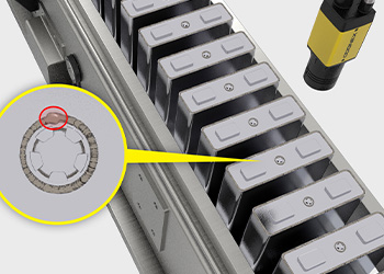 Cognex deep learning ensures injection seals are properly executed