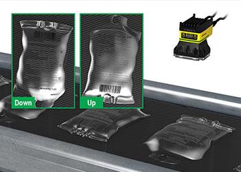 视觉系统检测已灌装静脉输液袋的朝向