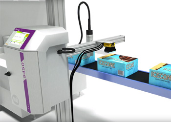 Cognex machine vision supports product identification and traceability through direct integration with CoLOS, the information management from Markem-Imaje