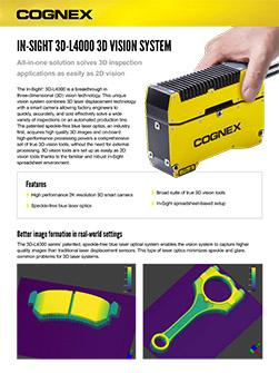 In-Sight 3D-L4000 数据表