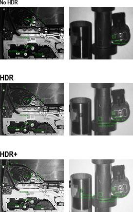 面向工件检测的 HDR Plus